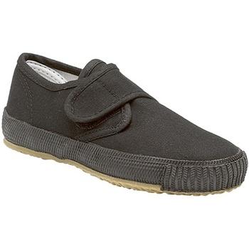 Schoenen Jongens Lage sneakers Dek  Zwart
