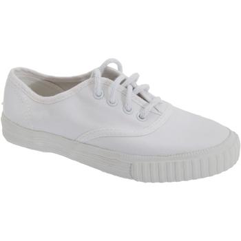 Schoenen Jongens Lage sneakers Dek  Wit