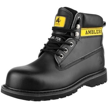 Schoenen Dames veiligheidsschoenen Amblers FS9 Zwart