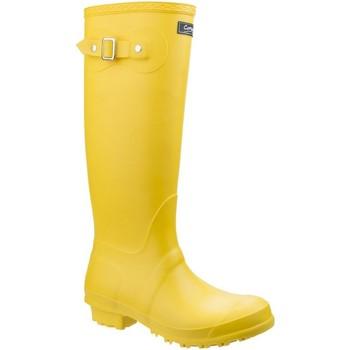 Schoenen Dames Regenlaarzen Cotswold Sandringham Geel