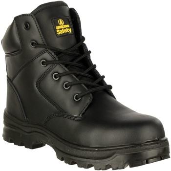 Schoenen Heren veiligheidsschoenen Amblers 006C S3 WP Zwart