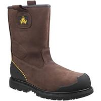 Schoenen Heren veiligheidsschoenen Amblers 223C S3 WP Bruin