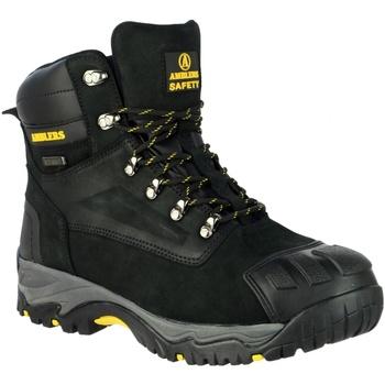 Schoenen Heren veiligheidsschoenen Amblers 987 S3 WP Zwart