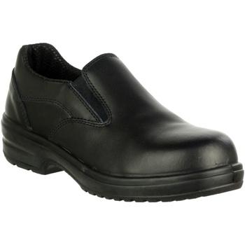 Schoenen Dames Mocassins Amblers 94C S1P Zwart