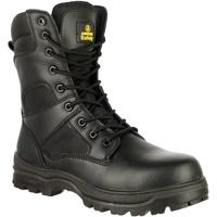 Schoenen Heren veiligheidsschoenen Amblers 009C S3 Zwart