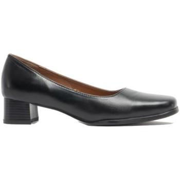 Schoenen Dames pumps Amblers WALFORD SHOE X WIDE (BLACK/NAVY) Zwart