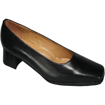Schoenen Dames pumps Amblers WALFORD (BLACK/NAVY) Zwart