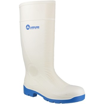 Schoenen Heren veiligheidsschoenen Amblers FS98 Safety White Wellingtons Wit