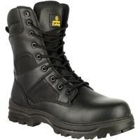 Schoenen Heren veiligheidsschoenen Amblers FS008 Safety Boots (Euro Sizing) Zwart