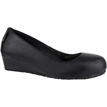 Schoenen Dames Laarzen Amblers FS107 SB HEEL Zwart