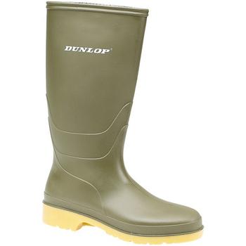 Schoenen Dames Regenlaarzen Dunlop 16247 Groen