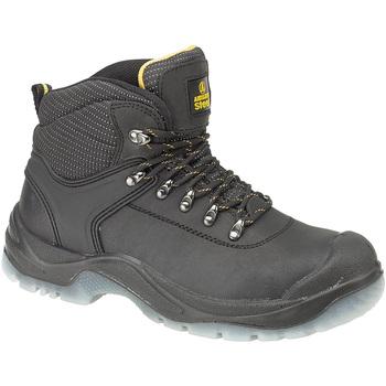 Schoenen Dames Veiligheidsschoenen Amblers FS199 (BLACK) Zwart