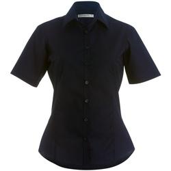 Textiel Dames Overhemden Kustom Kit K742F Zwart