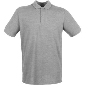 Textiel Heren Polo's korte mouwen Henbury HB101 Heide