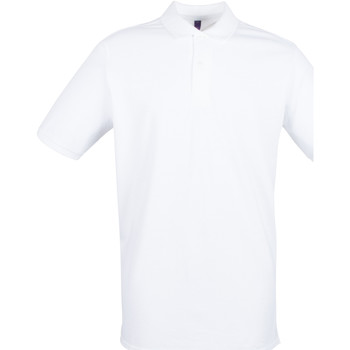 Textiel Heren Polo's korte mouwen Henbury HB101 Wit