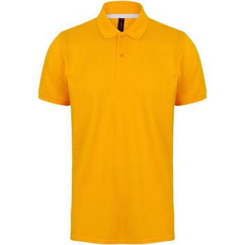 Textiel Heren Polo's korte mouwen Henbury HB101 Goud