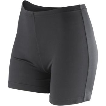 Textiel Dames Korte broeken / Bermuda's Spiro Softex Zwart
