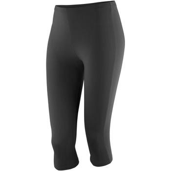 Textiel Dames Leggings Spiro SR284F Zwart