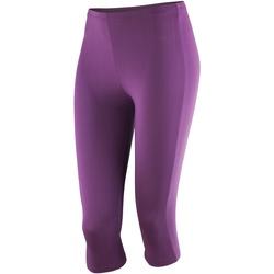 Textiel Dames Leggings Spiro SR284F Druif