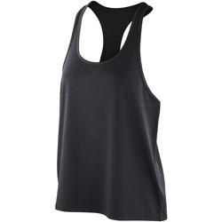 Textiel Dames Mouwloze tops Spiro SR285F Zwart