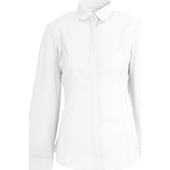 Textiel Dames Overhemden Brook Taverner Trevi Wit