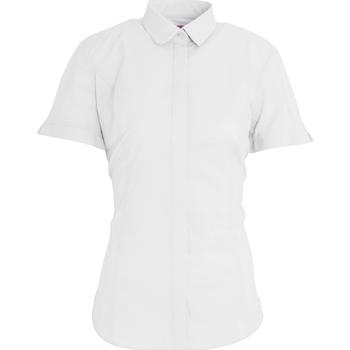 Textiel Dames Overhemden Brook Taverner BK133 Wit