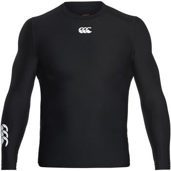 Textiel Heren T-shirts met lange mouwen Canterbury CN360 Zwart