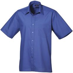 Textiel Heren Overhemden korte mouwen Premier PR202 Koninklijk