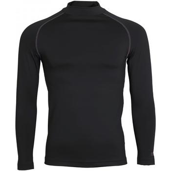 Textiel Heren T-shirts met lange mouwen Rhino RH001 Zwart