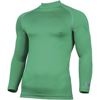 Textiel Heren T-shirts met lange mouwen Rhino RH001 Groen