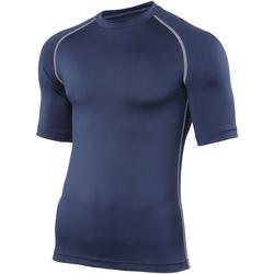 Textiel Heren T-shirts korte mouwen Rhino RH002 Marine