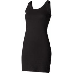 Textiel Dames Korte jurken Skinni Fit SK104 Zwart