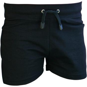 Textiel Jongens Korte broeken / Bermuda's Skinni Fit SM062 Zwart