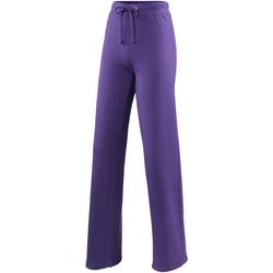 Textiel Dames Trainingsbroeken Awdis JH075 Paars
