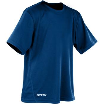 Textiel Jongens T-shirts korte mouwen Spiro S253J Marine