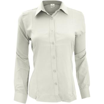 Textiel Dames Overhemden Henbury Wicking Wit