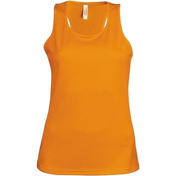 Textiel Dames Mouwloze tops Kariban Proact Proact Oranje