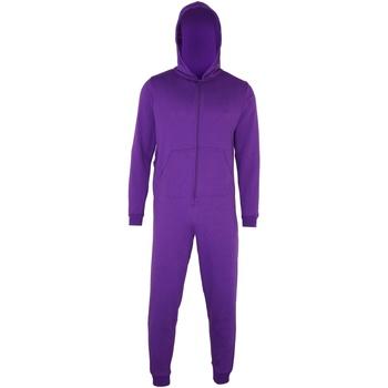 Textiel Kinderen Pyjama's / nachthemden Colortone CC01J Paars