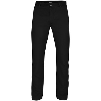 Textiel Heren Chino's Asquith & Fox AQ050 Zwart