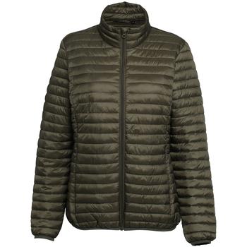 Textiel Dames Dons gevoerde jassen 2786 TS18F Olijf