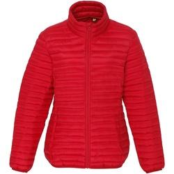 Textiel Dames Dons gevoerde jassen 2786 TS18F Rood