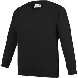 Textiel Kinderen Sweaters / Sweatshirts Awdis AC01J Zwart