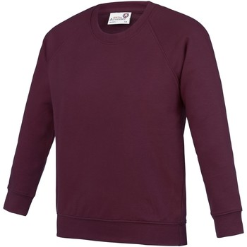 Textiel Kinderen Sweaters / Sweatshirts Awdis AC01J Bourgondië