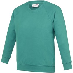 Textiel Kinderen Sweaters / Sweatshirts Awdis AC01J Groen