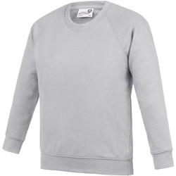 Textiel Kinderen Sweaters / Sweatshirts Awdis AC01J Grijs