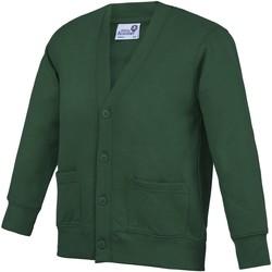 Textiel Kinderen Vesten / Cardigans Awdis Academy Groen