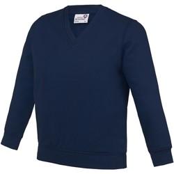Textiel Kinderen Sweaters / Sweatshirts Awdis AC03J Marine