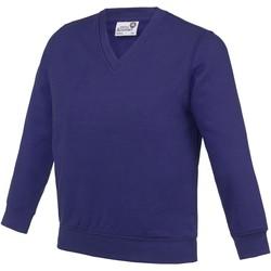 Textiel Kinderen Sweaters / Sweatshirts Awdis AC03J Paars