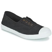 Schoenen Lage sneakers Victoria INGLESA ELASTICO TINTADA Zwart