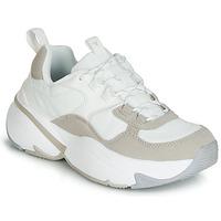 Schoenen Dames Lage sneakers Victoria AIRE NYLON/SERRAJE PU Wit